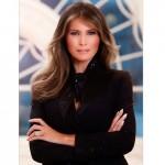 Resmi Dirilis, Foto Resmi Melania Trump di Gedung Putih Tuai Kritikan