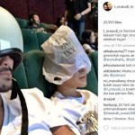 INSTAGRAM ARTIS : Cara Tora Sudiro Tonton Film Danur Ini Bikin Ngakak