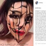 Hasil makeup Mimi Choi (Instagram @mimles)