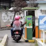 PERPARKIRAN SOLO : Begini Mekanisme Parkir E-Money di Jl. Gatsu