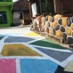 WISATA SEMARANG : Begini Indahnya Kampung Penuh Warna di Tembalang…