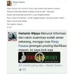 Perempuan Ini Minta Pertolongan di Grup Facebook Info Cegatan Jogja