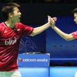 Marcus/Kevin & Antony Ginting ke Semifinal Singapore Open 2017