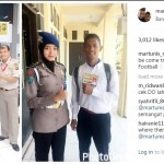 Martunis Anak Angkat CR7 Ikuti Tes Polisi