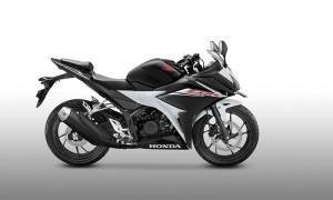 New Honda CBR150R warna Slick Black White (astra-honda)