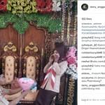 Pernikahan unik menggunakan baju pengantin seragam pramuka (Instagram)