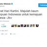 TRENDING SOSMED : Selamat Hari Kartini Kuasai Trending Topic