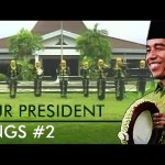 "VIDEO UNIK : Begini Jadinya Kalau Presiden Jokowi ""Nyanyi"" Lagu Kasidah"