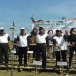 ABRASI PANTAI DEMAK : Leprid Catat Rekor Penanaman Mangrove Serentak