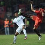 Timnas Indonesia U-22 vs Persija Jakarta (JIBI/ANTARA FOTO/Sigid Kurniawan)