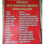 Warung Coto Makassar yang menyediakan menu janda (Twitter @saididu)