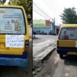 TRANSPORTASI SEMARANG : BRT dan Gojek Hadir di Kawasan Undip, Sopir Angkot Protes