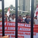Anggap Kasus Rizieq Mandek, Puluhan Orang Demo Polda Metro Jaya