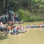 WISATA GUNUNGKIDUL : 2017, Kunjungan Gua Pindul  pada H+2 Lebih Rendah Dibanding 2016