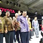 IIMS 2017 : Toyota Pamerkan 20 Mobil Unggulan, New Agya Jadi Andalan