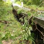 Ambles Sedalam 1/2 Meter, Jalan Lingkar Sangiran Sragen Ditutup
