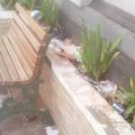 KEBERSIHAN SALATIGA : Trotoar Jl. Diponegoro Kotor, Netizen Geram