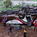 Bus Kitrans yang Kecelakaan di Cianjur Tak Terdaftar di Kemenhub
