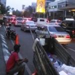 LALU LINTAS SEMARANG : Jl. Pandanaran Kerap Macet, Pusat Oleh-Oleh Disalahkan