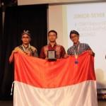 OLIMPIADE SAINS INTERNASIONAL : Masker Pengisap Asap Rokok Karya Remaja Wonogiri Sabet Medali Perak