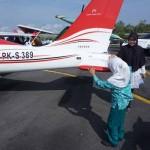 Pengalaman Sintiya, Siswa Tuna Netra saat Memegang Pesawat Tempur