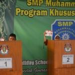 PENDIDIKAN SOLO : Pemilu Raya Ala SMP Muhammadiyah PK Kota Barat Solo