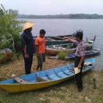 KECELAKAAN AIR SRAGEN : Perahu Pasutri Asal Sumberlawang Tercebur ke WKO, 1 Meninggal