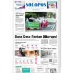 SOLOPOS HARI INI : Pembangunan Daerah: Dana Desa Rentan Dikorupsi