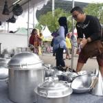 FESTIVAL KULINER SOLO : SICF 2017 Beri Rezeki Penjual Wajan, Sehari Raup Rp1,6 Juta