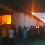 KEBAKARAN SUKOHARJO : Pabrik Plastik di Grogol Terbakar