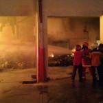 Video Kebakaran Pabrik Plastik di Grogol Sukoharjo