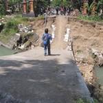 INFRASTRUKTUR KLATEN : Jembatan Widoro Ambrol, Jalur Gentan-Karangturi Terputus