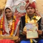 Ritual nikah masal di India. (Istimewa)