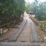 INFRASTRUKTUR WONOGIRI : Hampir Empat Tahun Jembatan Banaran di Pracimantoro Dibiarkan Rusak Parah
