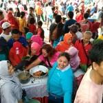 HUT KE-170 BOYOLALI : Puluhan Ribu Orang Ikuti Jalan Sehat Berhadiah Mobil
