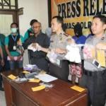 NARKOBA KLATEN : Pengedar Sabu-Sabu dan Obat Keras Tanpa Izin Edar Ditangkap