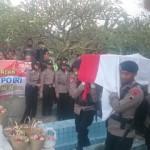 BOM KAMPUNG MELAYU : Penghormatan Terakhir untuk Briptu Gilang