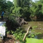 INFRASTRUKTUR KLATEN : Tebing Kali Dengkeng Sepanjang 1,46 Km Rawan Longsor