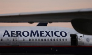 Ilustrasi pesawat Aeromexico. (JIBI/Reuters/Edgard Garrido)