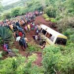 Bus Sekolah Masuk Jurang, 35 Orang Tewas