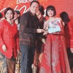 KABAR ARTIS : Junjung Tinggi Budaya Indonesia, Andien Sabet Penghargaan Bergengsi