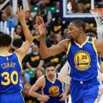PLAYOFF NBA : Durant Bikin Warriors Makin Tak Terkejar