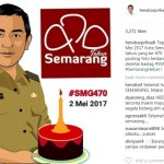 Warganet Riuh Ucapkan Selamat HUT Kota Semarang