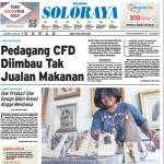 SOLOPOS HARI INI : Soloraya Hari Ini: Pedagang CFD Diimbau Tak Jualan Makanan