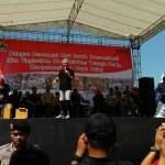 HARI BURUH 2017 : May Day, Gubernur Ganjar Senam Sehat di Sukoharjo