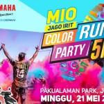 Peserta Mio Jago Irit Color Run Ditantang Berlari 5 Km