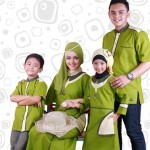 Ilustrasi baju couple keluarga (Tokopedia.com)