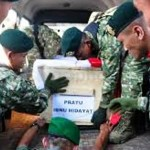 KECELAKAAN MERIAM PPRC TNI : Baru 2 Tahun Menikah, Pratu Ibnu Hidayat Tinggalkan Anak 1,5 Tahun