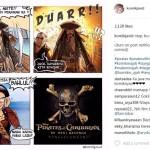 Komik Susi Pudjiastuti versus Jack Sparrow (Instagram komikjavid)