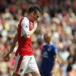 Koscielny Dipastikan Absen di Final Piala FA